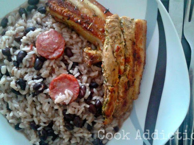 Receita Prato Principal : Entremeada grelhada com arroz de feijão preto de Addicted