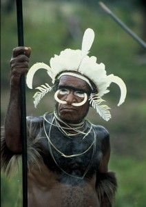 Papua– Kmen Dani vBaliemském údolí