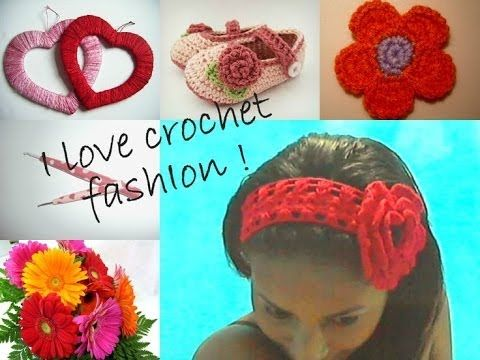 FLOWER MADE IN CROCHET, FAST & CUTE + DIY !