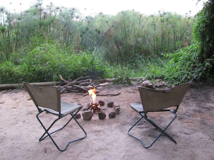N//goabaca Campsite near Popa Falls, Okavango River, Namibia