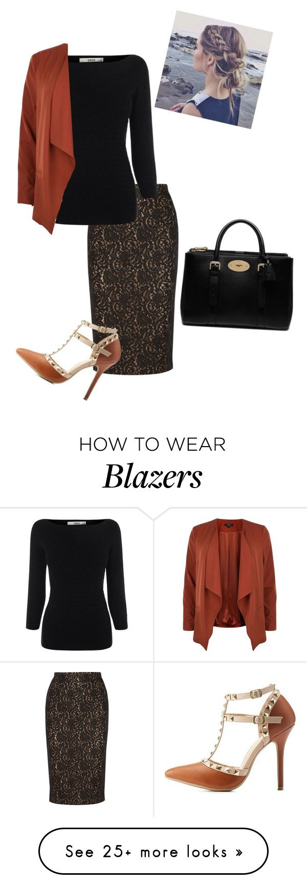 """Untitled #81"" by rae1997 on Polyvore featuring N°21, Oasis, Charlotte Russe and Mulberry"
