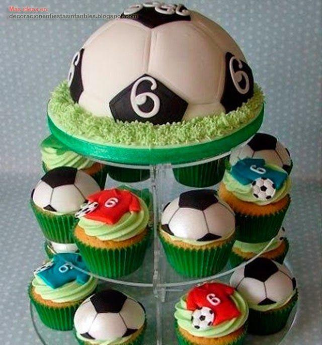 Resultado de imagen para ideas para cumpleaños de futbol real madrid