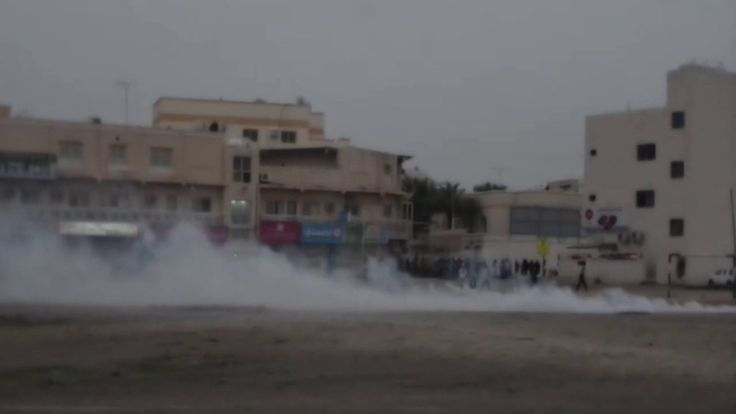 قمع مسيرة ختام عزاء الشهيد محمد سهوان - بلدة السنابس 20/3/2017 Bahrain