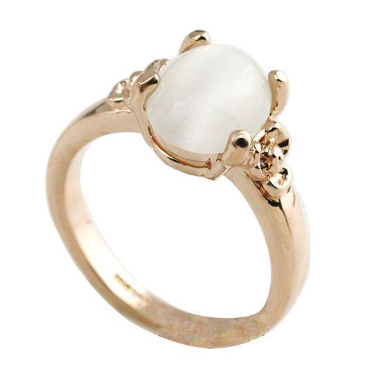Мода красивая простой опал кольца фабрик в гуанчжоу одноместный камнями кольца дизайн для женщин