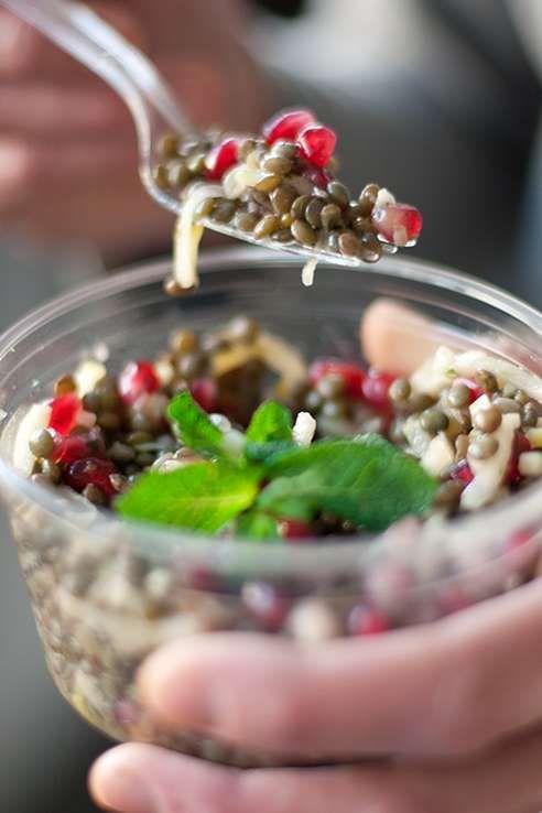 cojean lentil salad
