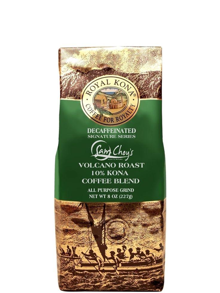 Royal Kona Decaf Coffee - Sam Choy - 8oz