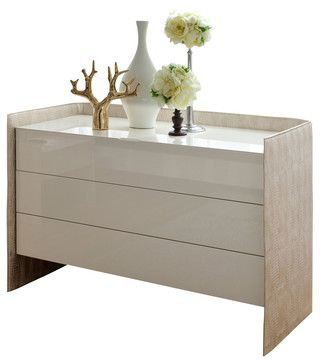 Oyster Dresser Modern Dressers Chests And Bedroom Armoires Inmod