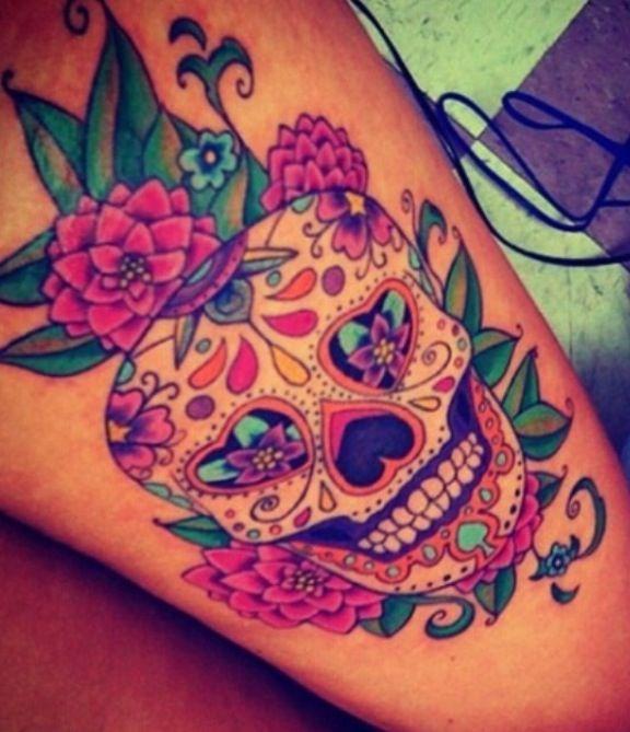 Deadly Skull Tattoo Designs For Men