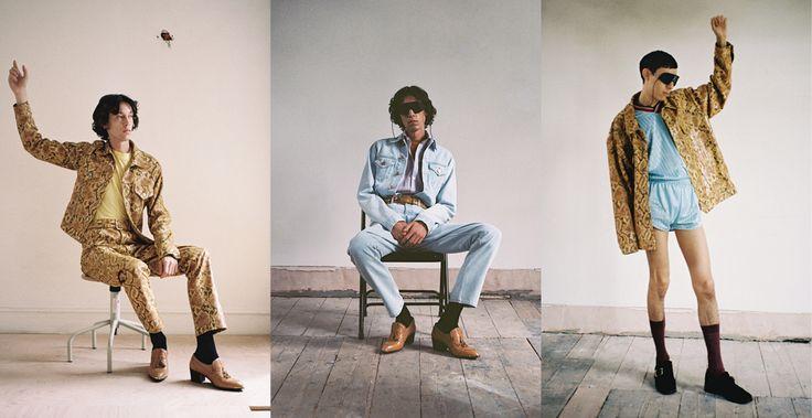 Martine Rose est un secret d'initié, mais aussi l'une des consultantes qui opère auprès de Demna Gvasalia chez Balenciaga. Si elle a commencé sa carrière de styliste en 2007 et a vu l'émergence de la scène mode masculine londonienne, la créatrice continue pourtant de présenter ses collections hors du calendrier, à part. Retour sur sa brillante collection printemps-été 2017.