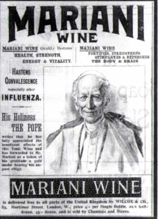 Pope Leo x111 carried a hip flask infused with wine and cocain