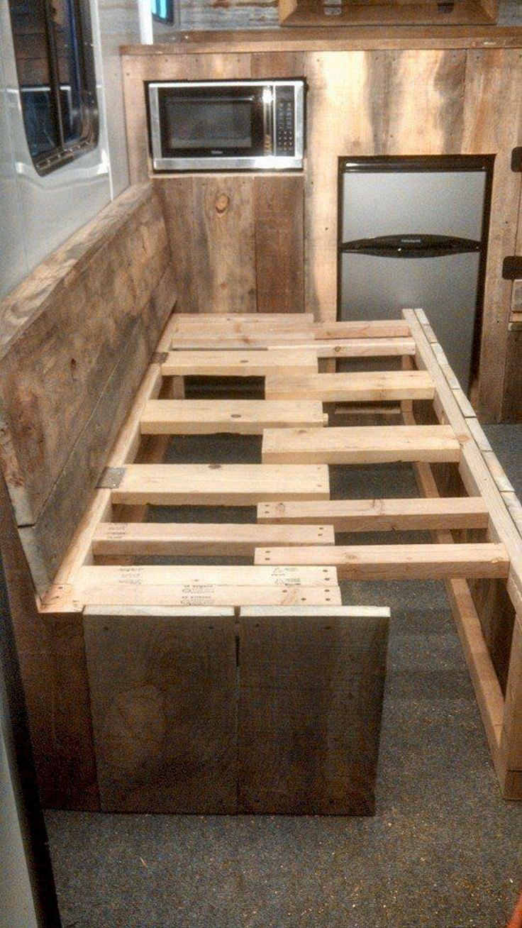 The Best and Low Budget RV Hacks Makeover Remodel Table Ideas No 50