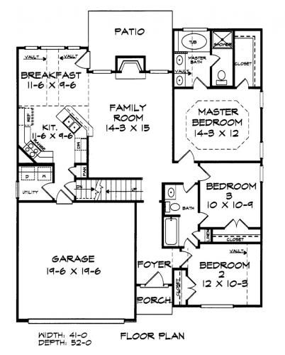 Burkley Builders Floor Plans Blueprints Architectural Drawings For