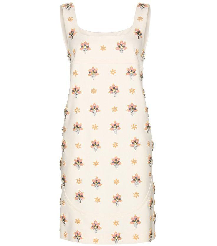 Emilio Pucci embellished dress #EmilioPucci #embellished #dress #crystals