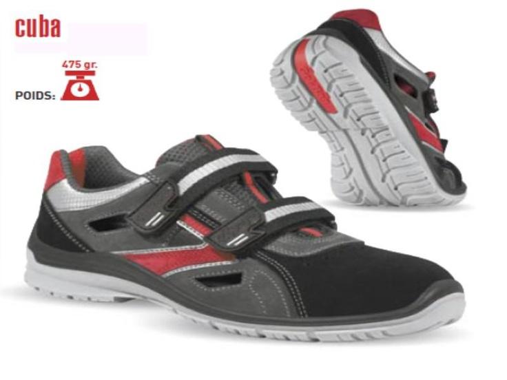 Chaussure de sécurité à scratch - Code produit: 12355446 - Cliquez sur la photo pour voir la fiche produit