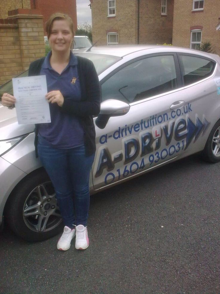 "MORE 1ST TIME PASSES!!!!!  A huge congratulations to Jess Morris who passed her practical driving test 1st time 23/10/14 with only 2 minor driving faults at Northampton Driving Test Centre with Aidan Checketts of www.adrivetuition.co.uk  #Driving #Adrive #DrivingTest #DrivingSchools #DrivingLessons #DrivingInstructors #Northampton #Daventry #Wellingborough #Northants  Jess said ""A big thank you to Aidan for teaching me so well. I couldn't have done without him, he was great. Highly…"