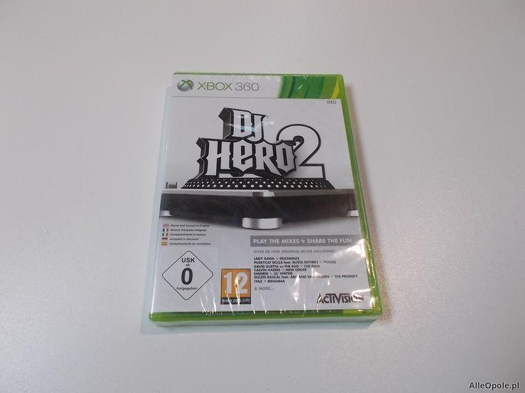 "DJ Hero 2 - GRA Xbox 360 - Sklep ""ALFA"" Opole 391 - AlleOpole.pl (Opole)"