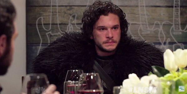 Jon Snow Attends Modern Day Dinner Party In Seth Meyers Skit —Watch