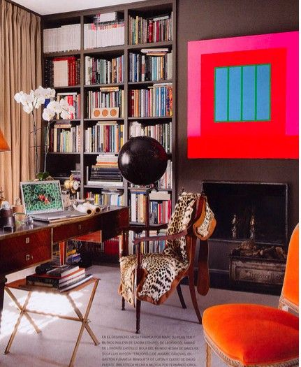 eclectic, fabulous office