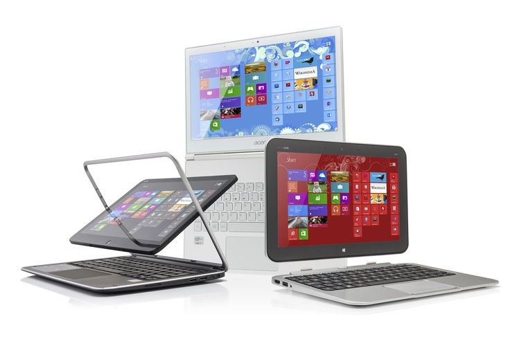 Laptop or tablet? Get both with a convertible or touchscreen Windows 8 device. Here we have the Acer Aspire S7 Ultrabook, the Dell XPS 12 and the HP Envy X2