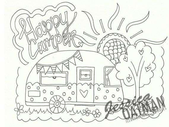 65 New Photos Of Felt Coloring Pages Check More At Https Www Mercerepc Com Felt Coloring Pages Camper Art Coloring Pages Camping Coloring Pages