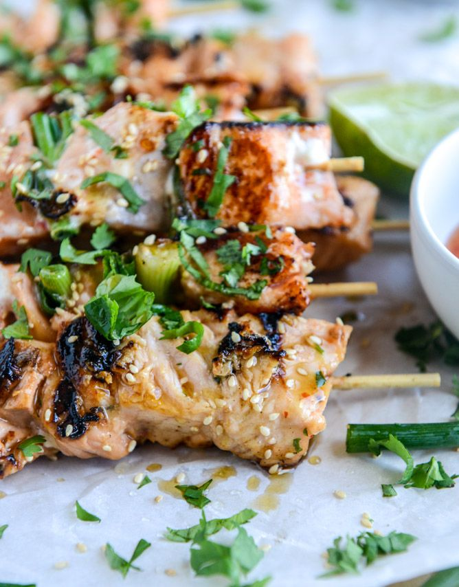 25+ best ideas about Salmon skewers on Pinterest | Bbq ...