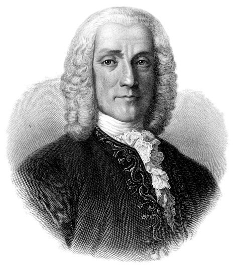 Giuseppe Domenico Scarlatti (1685 –1757) was an Italian composer who spent much of his life in the service of the Portuguese and Spanish royal families. He is classified as a Baroque composer chronologically, although his music was influential in the development of the Classical style. Like his renowned father Alessandro Scarlatti he composed in a variety of musical forms, although today he is known mainly for his 555 keyboard sonatas.