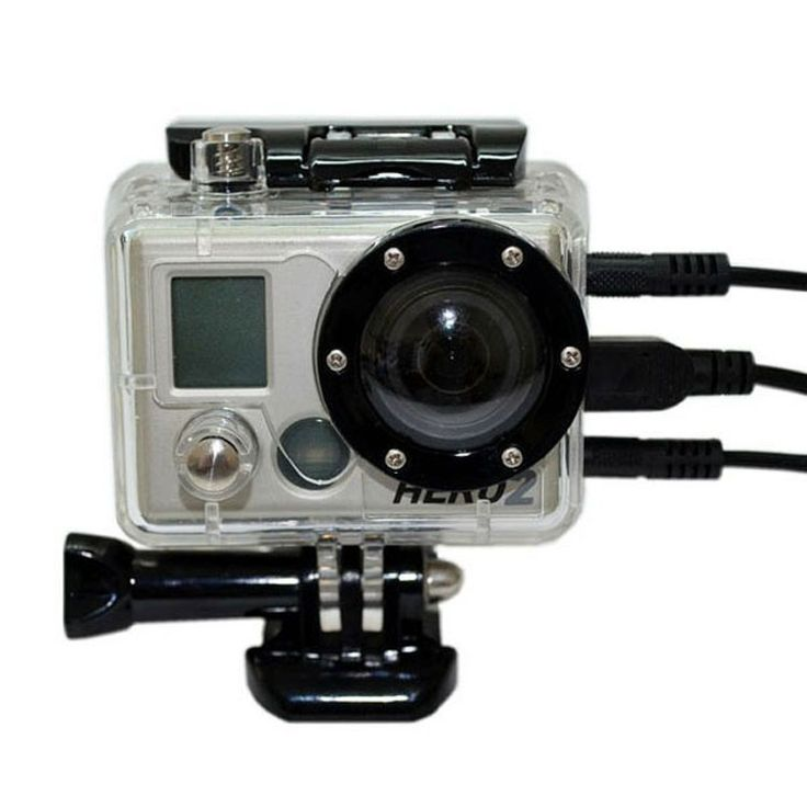 Protective Waterproof Housing Case with Coated Glass Lens for Gopro Hero 1 2