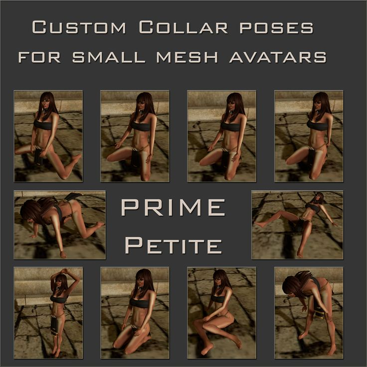 PrimBay - PRIME Petite Collar poses (full perms)