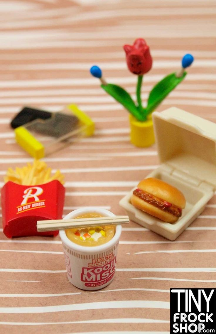 Barbie Re-ment Youth Days High School Set #7 Fast Food - BACK IN STOCK!