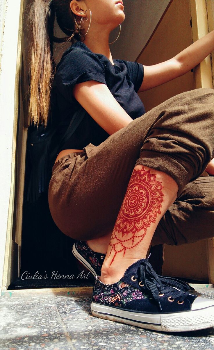 ❤ #henna #mine #byme #hennaart #hennatattoo #hennadesign #tattoo #tumblr #legtattoo #design #girl #love #tumblrgirl #me #picoftheday #beautiful #mandala #mehndi #photooftheday #pretty #follow #followme #hair #swag #sexy #hot #cool #fashion #style #sweet #beauty #look