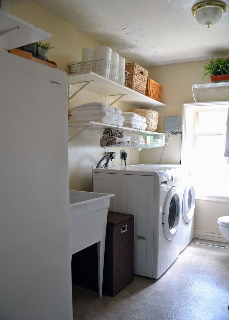 Commercial Grow Room Design: 12 Best Combined Bathroom Laundry Images On Pinterest