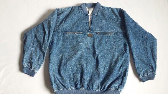 Man/Woman Acid Jeans Jacket /  Street Acid Denim Jacket / Oversize Denim Jacket / Acid Jeans Jacket 90s Style