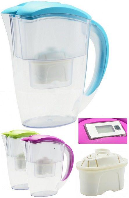 Saját vízszűrő kancsód mindennapos használatával végre valahára megszabadulhatsz a kényelmetlen és nehéz palackos vizek cipelésétől, és a...