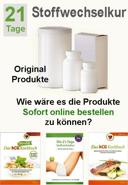 Sofort original Stoffwechselkur Produkte bestellen