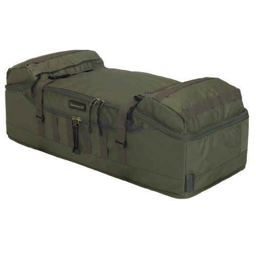 Classic Accessories 15-045-011405-00 QuadGear MOLLE Style Front Rack ATV Bag, Olive