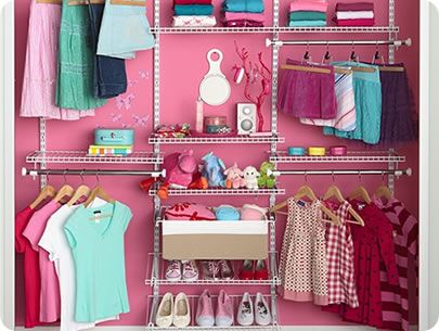 Rubbermaid Kidsu0027 Closet Like This For The Kids Stuff! So Much Cheaper Than