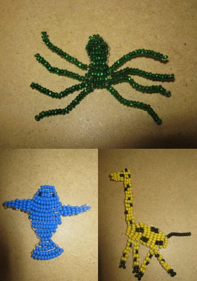 animals of beads