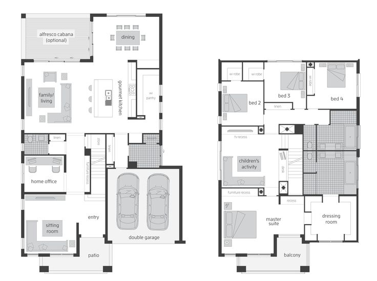 Tallavera - Floorplans | McDonald Jones Homes