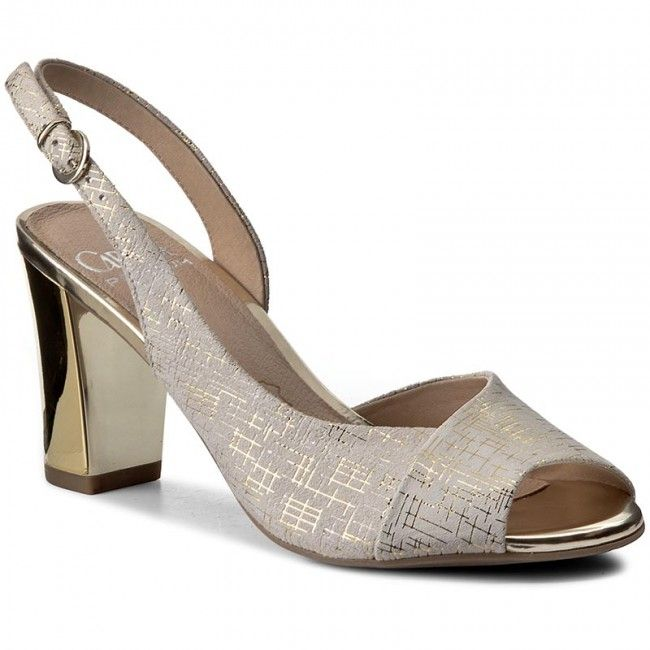 Sandále CAPRICE - 9-28304-28 Offwhite Multi 114