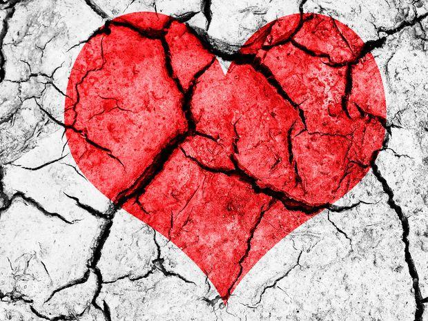 zlomené srdce