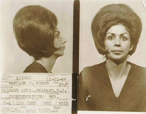 Best Mugshots Images On Pinterest Brave Women Photography - 15 vintage bad girl mugshots from between the 1940s and 1960s