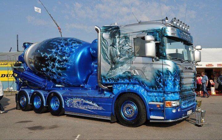 Scania Concrete Mixer