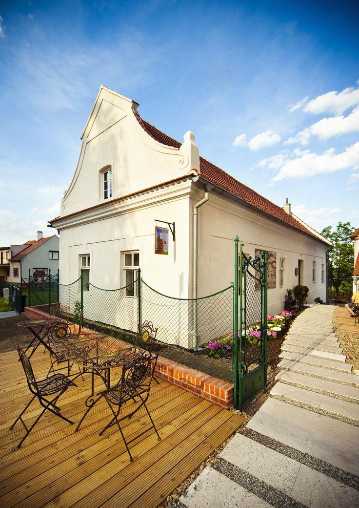 2009_Areál Café fara v Klentnici na južnej Morave_Ateliér Štěpán_3