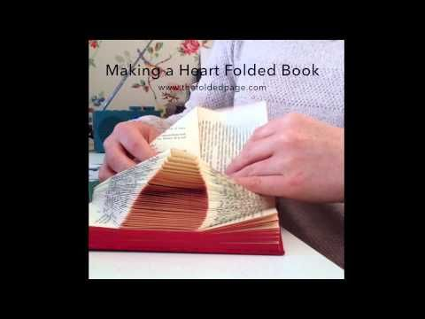 Beautiful Folded Book Art Featuring Words and Patterns That Pop Out of Pages