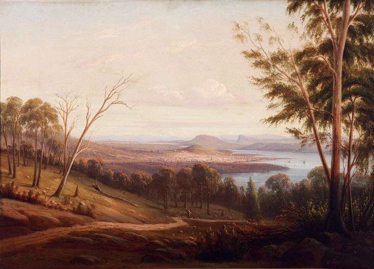 View of Hobart Town - Knut Bull