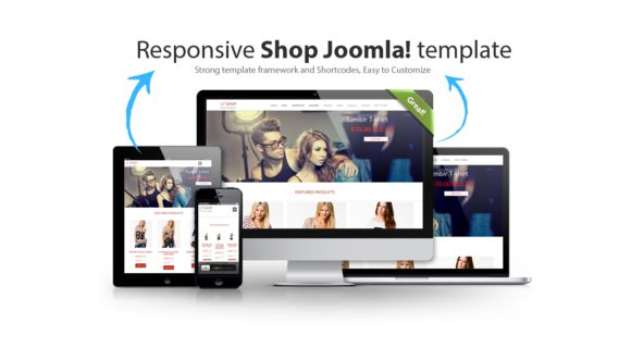 LT Shop - K2 Store Joomla! template by LTheme on @creativemarket
