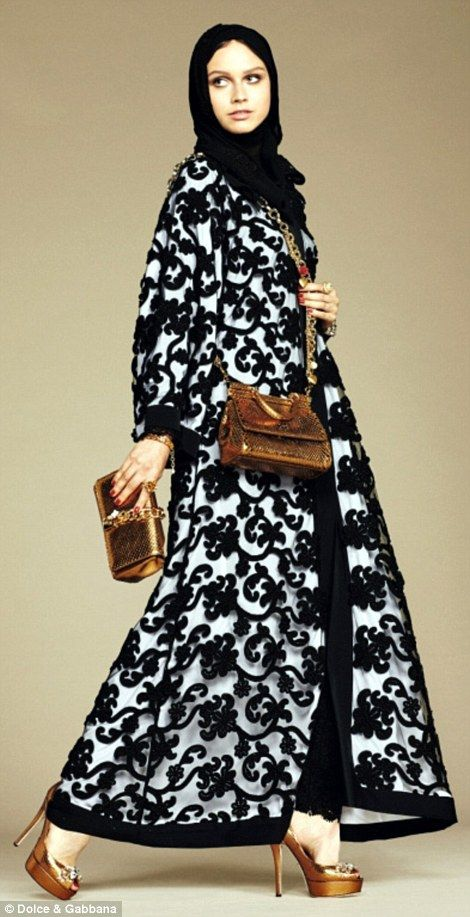 D&G launches collection of hijabs and abayas for Muslim customers