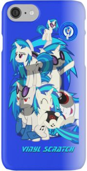 Vinyl Scratch Phone cover iPhone 7 Cases