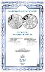 Národní Pokladnice garantuje svým zákazníkům pravost drahých kovů na svých emisích Certifikátem autentičnosti. #narodnipokladnice #numismatika #emise #garance