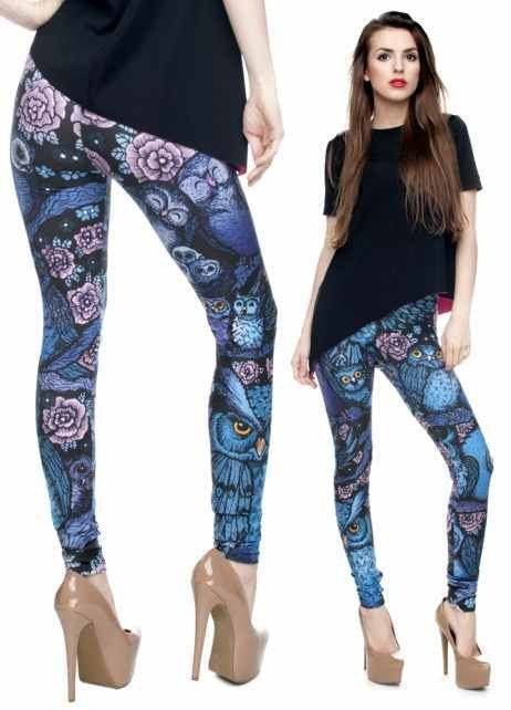 Sublimation print legging. The same butter soft feel, but a different printing process. This process takes a photo and prints it right on the garment. The graphics are stunning! Unfortunately, because